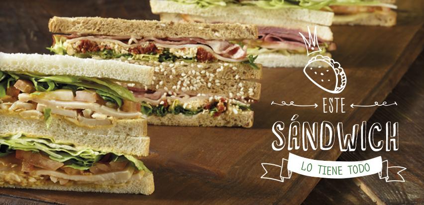 Este sandwitch lo tiene todo